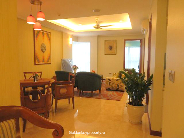 Brand new, 3 bedroom apartment in L2 Ciputra for rent with furnished