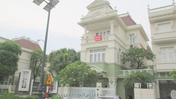 Quality House, nice garden for Rent in Ciputra Hanoi