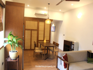 Clasical style apartment 1 bedroom in Trieu Viet Vuong Hanoi