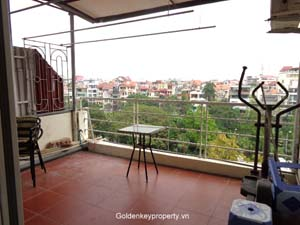 Furnished apartment 2 bedrooms in Nghi Tam near Sheraton Hotel