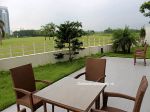 Gorgeous villa in Ciputra Hanoi, nice view, garden, new furnished