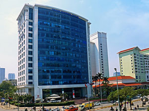 Hanoi Daeha Business Center office for lease on Kim Ma street