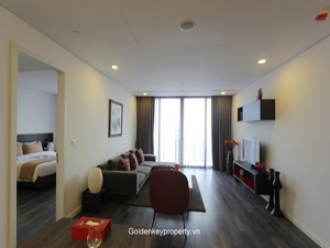 High quality serviced apartment for rent on Tay Ho street