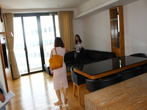 Indochina Plaza apartment 2 bedrooms for lease on Xuan Thuy street