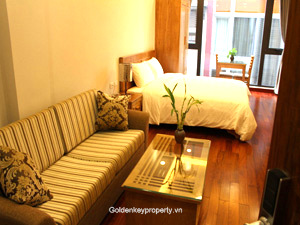 Kim Ma Apartment Japanese style for rent in Ba Dinh district