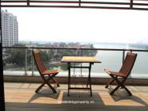 Lakeside Terrace in Tay Ho Hanoi Serviced Apartment for Rent