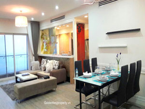 Lakeview 2 bedrooms apartment in Golden Westlake Hanoi