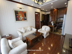 Luxury furnished apartment for lease in Ba Dinh Dist, Hanoi