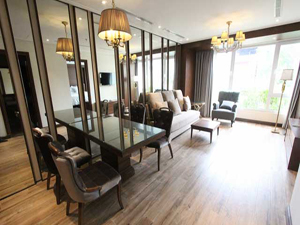 Luxury serviced apartment 2 bedrooms for rent in Hang Chuoi street