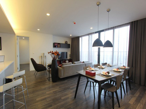 Luxury serviced apartment 3 bedrooms for lease in Tay Ho