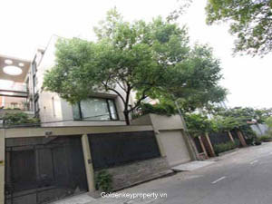 Modern Villa for rent Vuon Dao area Tay Ho district, Hanoi