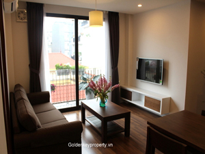 New serviced apartment to lease 2 bedrooms on Kim Ma