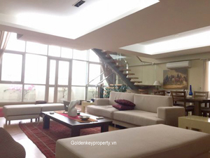 Penthouse modern style spacious layout for rent in ciputra
