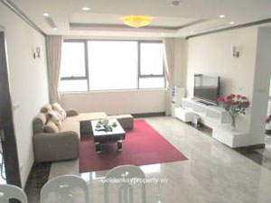 Platinum Residences Hanoi apartment for rent 2 bed furnished