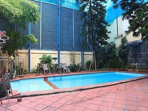Private pool villa with garden for rent in Tay Ho Dist