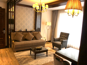 Serviced 1 bedroom apartment in Hang Chuoi street, Hanoi