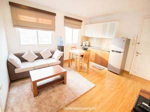 Serviced apartment for rent on Pham Huy Thong, Ba Dinh Dist