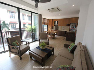 Tay Ho new serviced apartment in Xuan Dieu area
