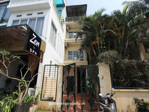 Westlake view, cozy house for lease in Nghi Tam area