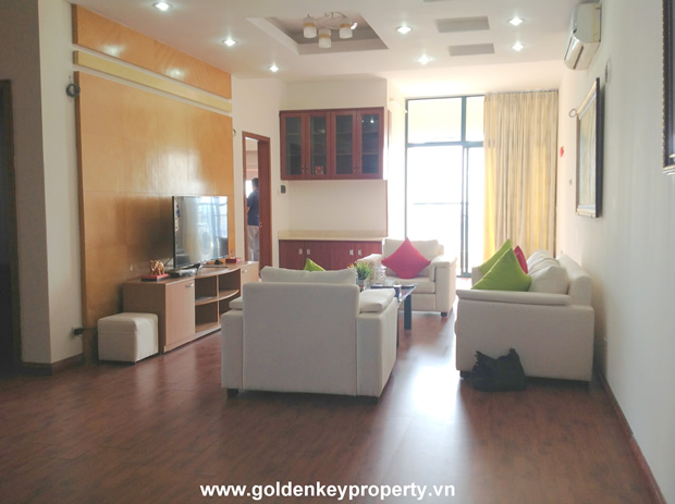 Hanoi Furnished and good Quality apartment for rent in Vuon Xuan building