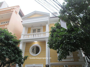 5 bedroom villa for rent in Linh Lang street, Ba Dinh Hanoi