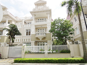 Spacious Ciputra villa for rent in T3 block, high quality 5 bed