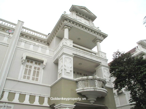 Spacious open style villa for rent in Ciputra Hanoi