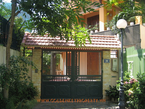 A Beautiful villa for Rent in Nguyen Khanh Toan street, Cau Giay, Hanoi