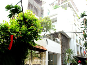 Modern Villa with pool Rental in To Ngoc Van street, Tay Ho, Hanoi