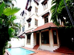 Perfect family villa with outdoor swimming pool in Tay Ho Hanoi