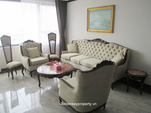 Platinum Hanoi apartment for lease 2 bedrooms modern furnishing