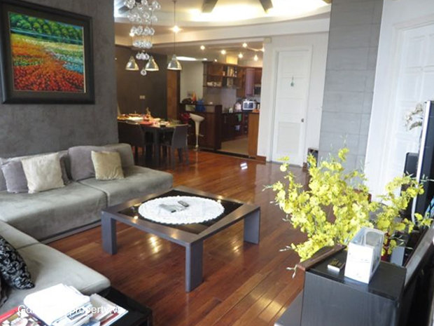 3 bedroom 153 sqm apartment for rent in E5 tower Ciputra Hanoi