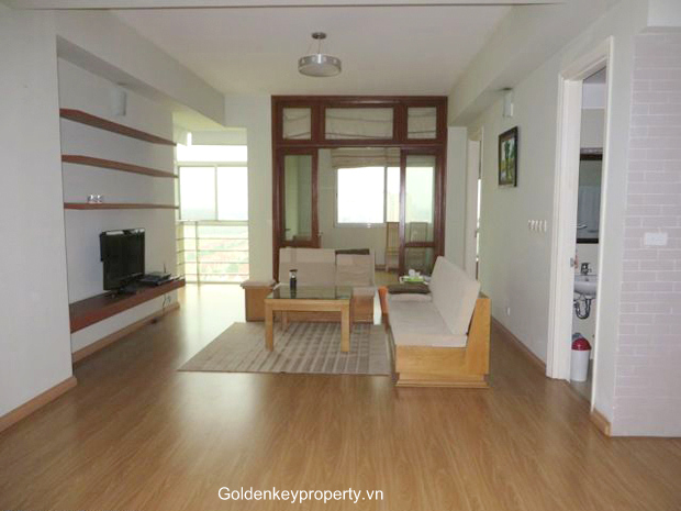 3 bedroom apartment rental, 123 m2 apartment in E1 Ciputra Hanoi