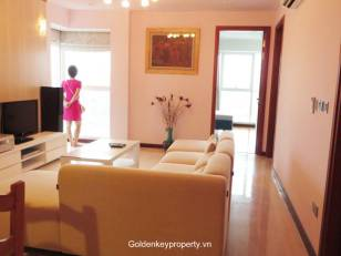 Brand new apartment furnished 3 bedroom in L2 Ciputra, Hanoi with modern style