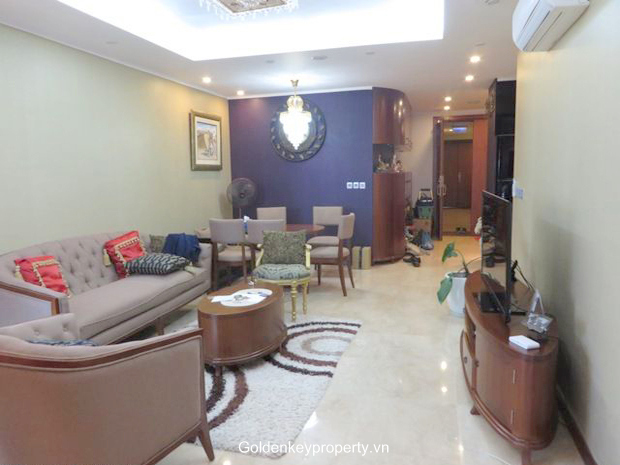 Apartment in Ciputra Hanoi, 3 bedroom apartment rental in L2 tower