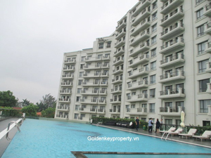 2 bedrooms apartment for rent in Elegant Suites Tay Ho, Hanoi
