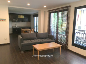 Apartment rental in Tay Ho Hanoi, 2 bedrooms new furnishing