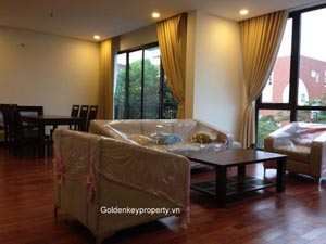 Apartment to rent in Tay Ho Hanoi, 3 bedrooms new furnished