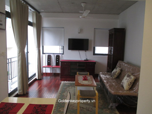 Cozy 2 bedrooms apartment for rent on Tay Ho Street Hanoi