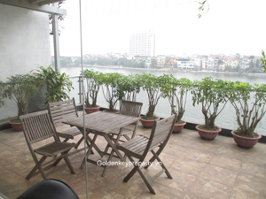 Westlake view, 2 bedroom apartment in Quang An street, Tay Ho