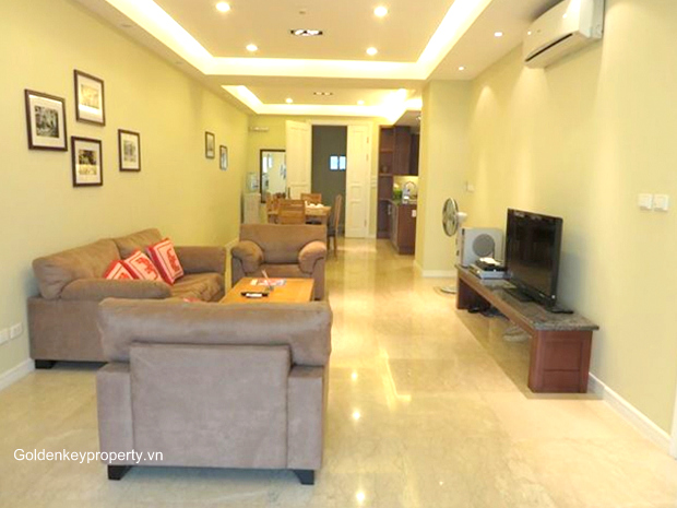 3 bedroom apartment for rent in Ciputra Hanoi - new furnished 145m2