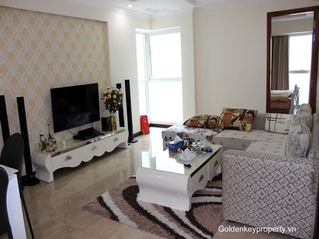 Brand new apartment 3 bedroom in Ciputra for Rent, modern furnishing, bright