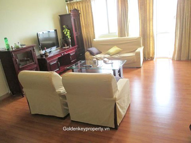 Hanoi apartment for rent E 1 Ciputra with 4 bedroom city view