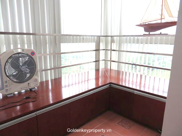 Modern 3 bedroom apartment for rent in E4 Ciputra, furnished, high floor with nice view
