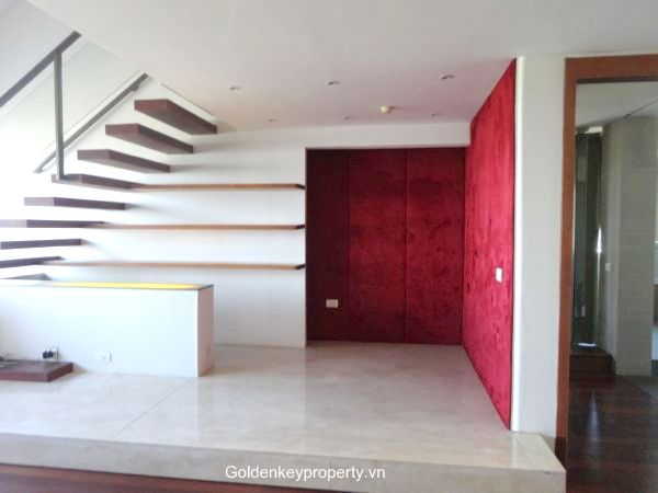 Spacious penthouse 2 bedroom apartment for rent E tower, Ciputra Hanoi