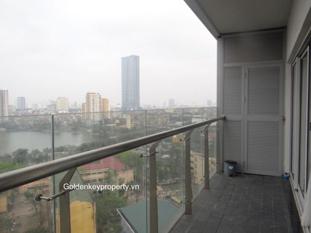 Lancaster serviced apartment Hanoi with 3 bedroom and high floor
