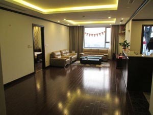 2 beds apartment in Platinum Residence, view to Giang Vo lake