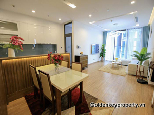 Outstanding 03 bedrooms apartment for rent in Metropolis Hanoi