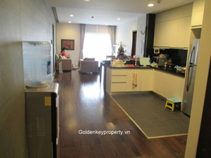 Apartment 3 beds in Lancaster Hanoi for rent on Nui Truc street