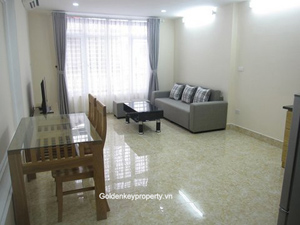 Ba Dinh apartment 2 bedrooms in Van Cao street, Hanoi